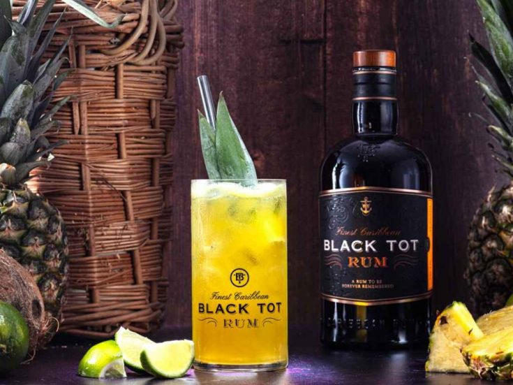 The Golden Tot by Black Tot Rum