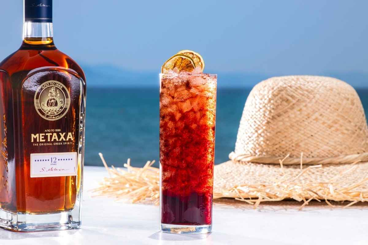 How to Make the Metaxa Frappé Collins