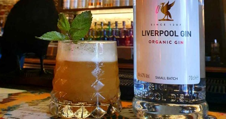 How to Make the Liverpool Gin Pumpkin Cooler