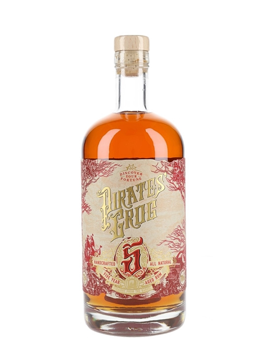 Pirate's Grog 5 Year Old Rum : The Whisky Exchange (ships worldwide)