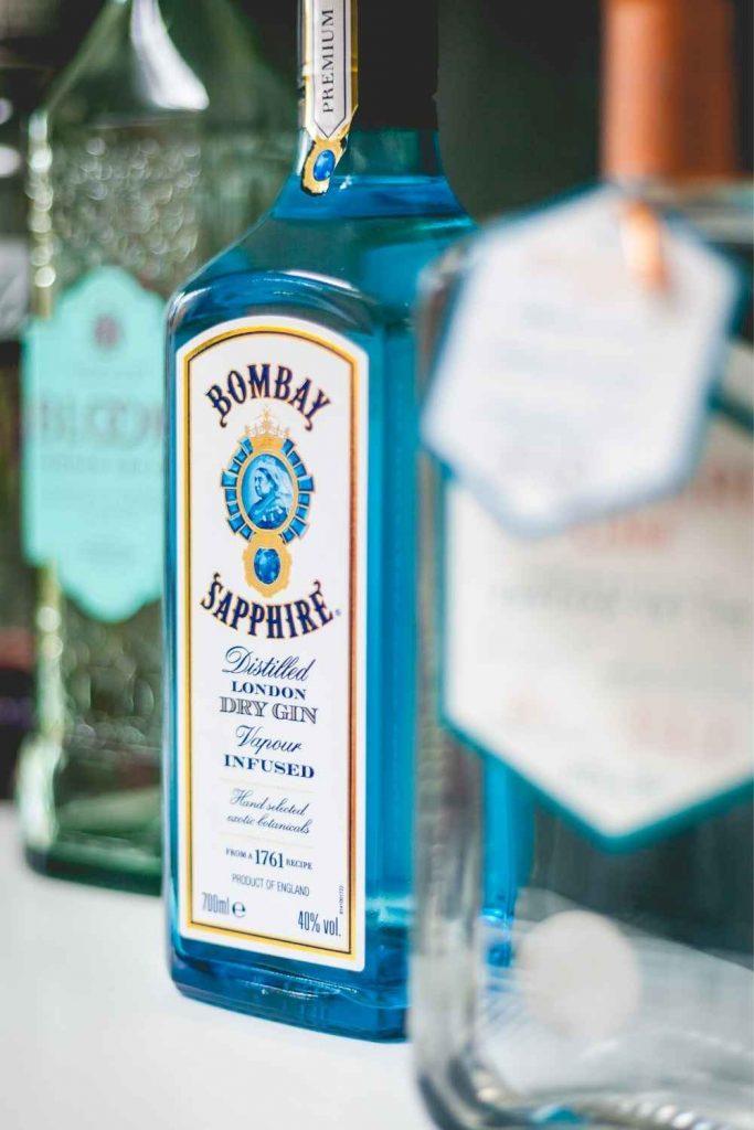 Home Bar Bottles - Gin