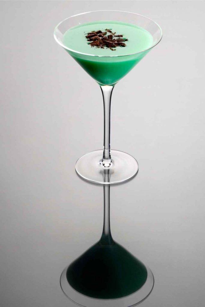 Home Bar Bottles - Grasshopper