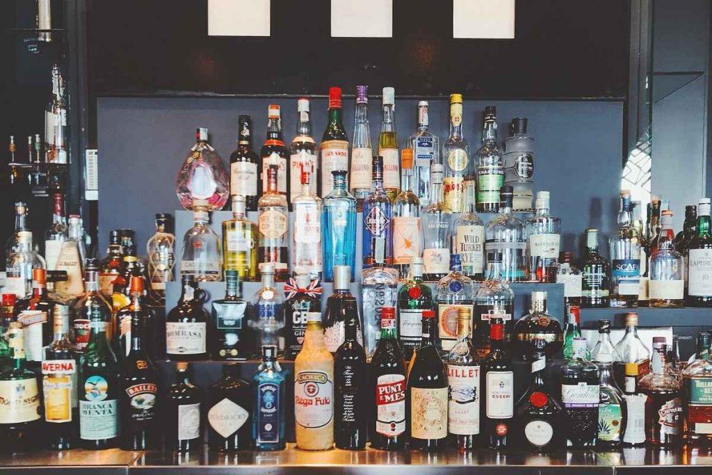 Home Bar Bottles