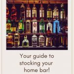 Stocking your home bar