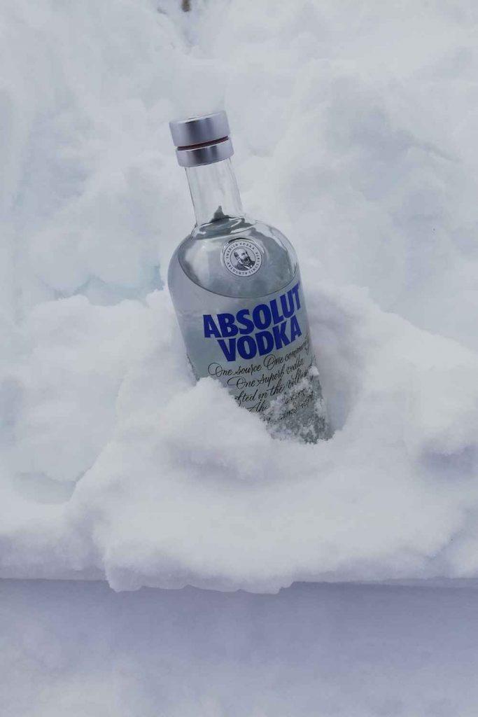 Home Bar Bottles - vodka