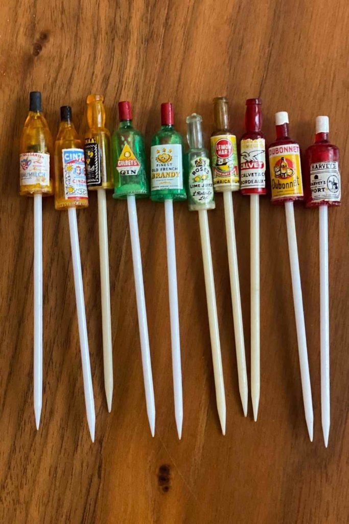 Home Bar Tools - Cocktail Picks