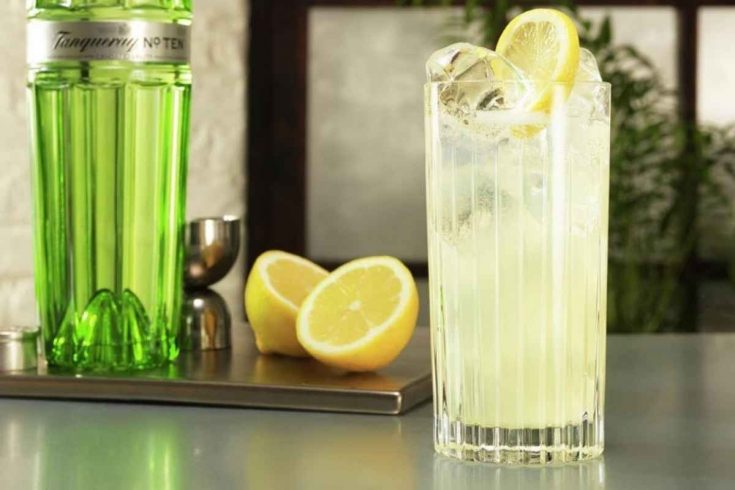 Tanqueray Cocktails - Collins