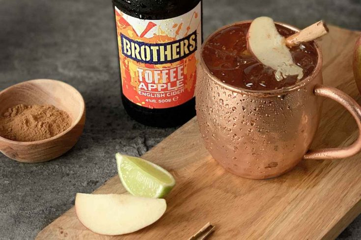 How to Make the Brothers Toffee Apple Moscow Mule