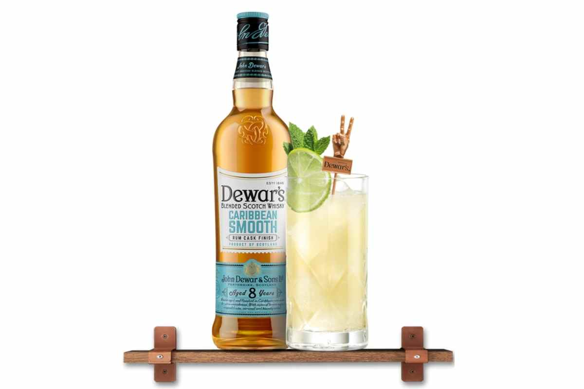 How to Make the Dewar's Coconut Highball