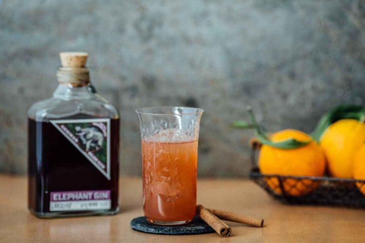 Elephant Gin Orange Toddy