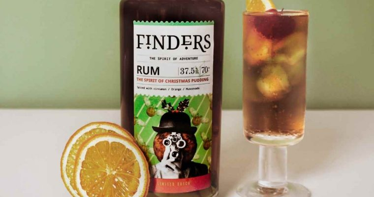 How to Make the Finders Christmas Pudding Rum Perfect Serve