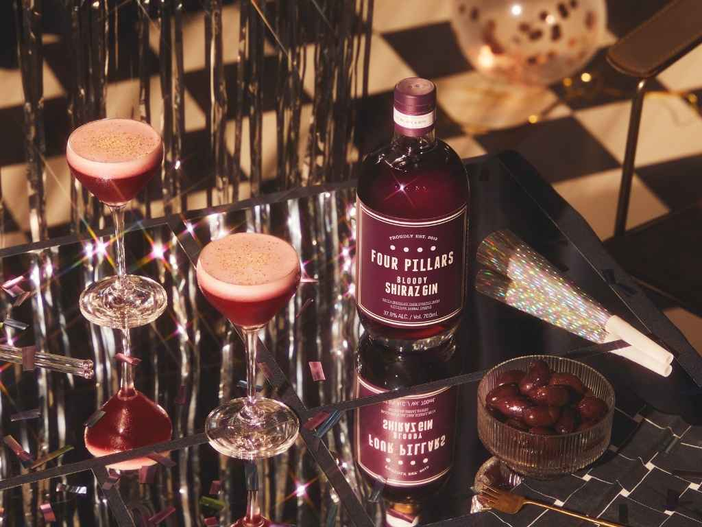 How to Make the Four Pillars Gin Clover Club