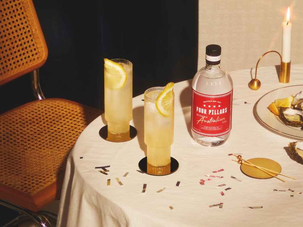 How to Make the Four Pillars Gin Ginger Collins