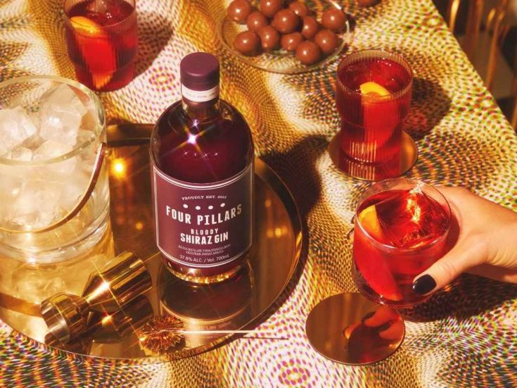 How to Make the Four Pillars Gin Nutcracker Negroni