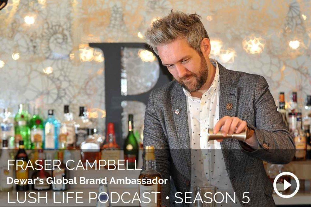 Fraser Campbell, Dewar's Global Brand Ambassador, London