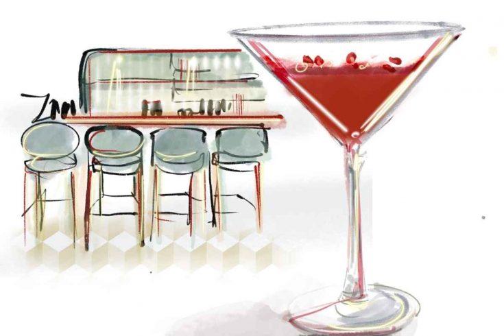 Reverend Hubert Winter Gin Liqueur Martini