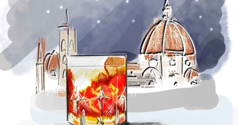 How to Make the Reverend Hubert Winter Gin Liqueur Negroni
