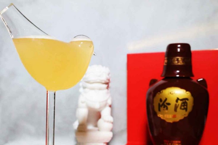 Fenjiu Bee's Knees cocktail