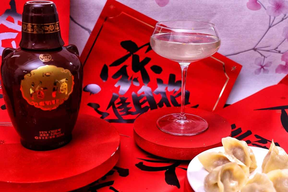 How to Make the Fenjiu Chinese New Year Martini