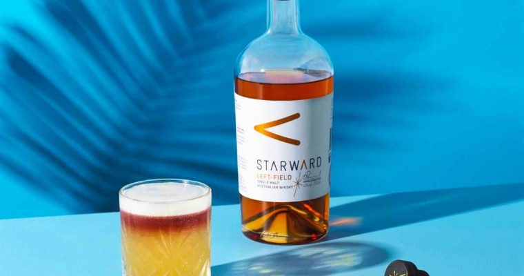How to Make the Starward Left-Field New York Sour