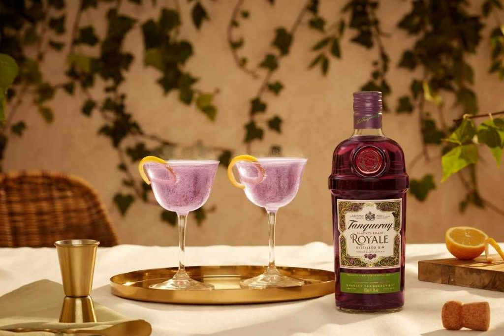 Tanqueray Blackcurrant Royale French 75