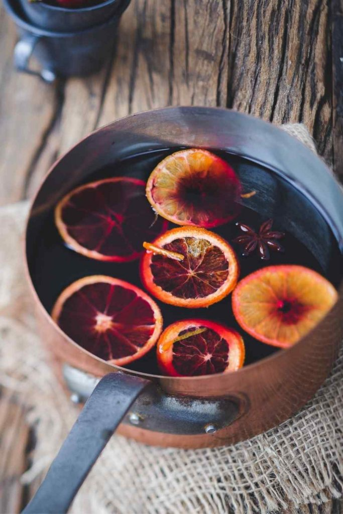Wine-less Mulled Wine upright