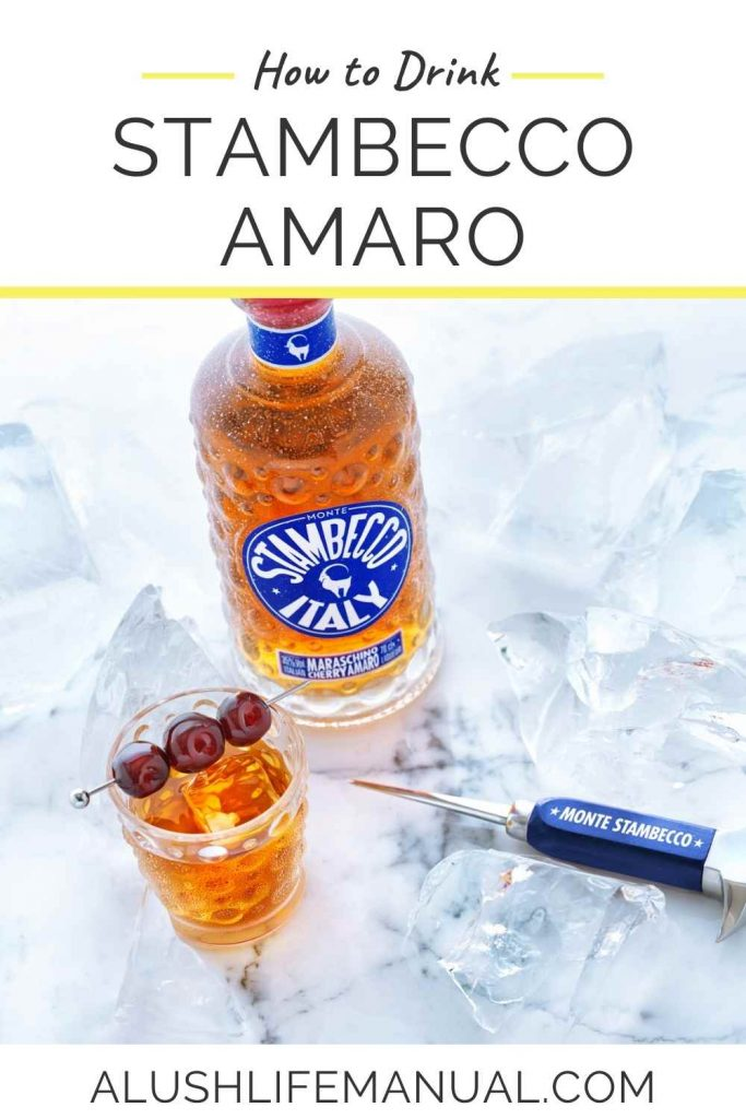 How to Drink Stambecco Amaro