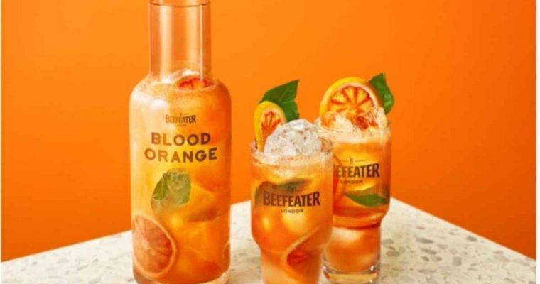 How to Make the Beefeater Blood Orange Smashing Basil Punch