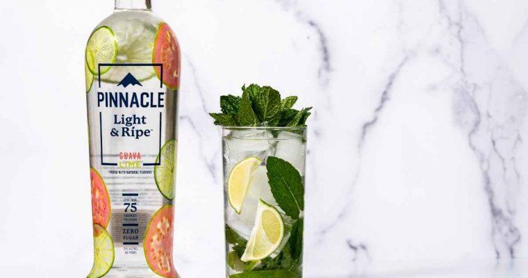 How to Make the Pinnacle Vodka's Light & Ripe Guava Lime Mojito