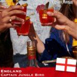 Captain Morgan's England Serve