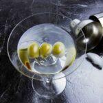 Garlic Olive Martini