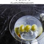 Garlic Olive Martini - Pinterest