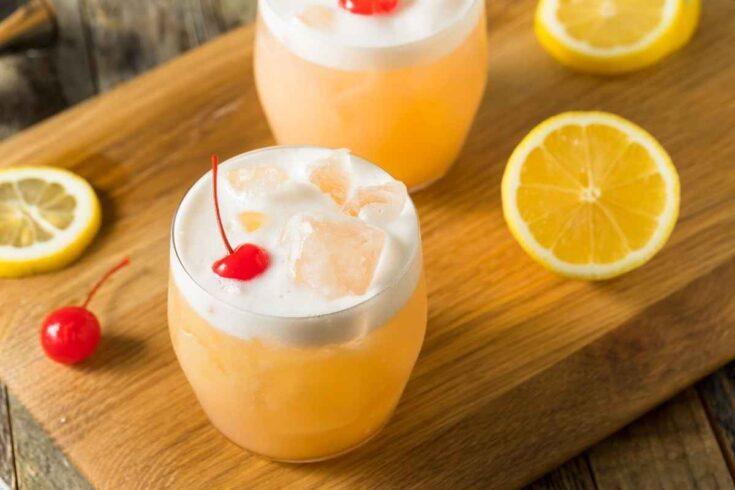 Vodka Sour recipe