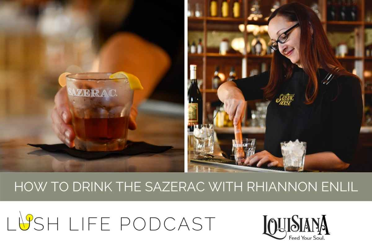How to Drink the Sazerac with Rhiannon Enlil