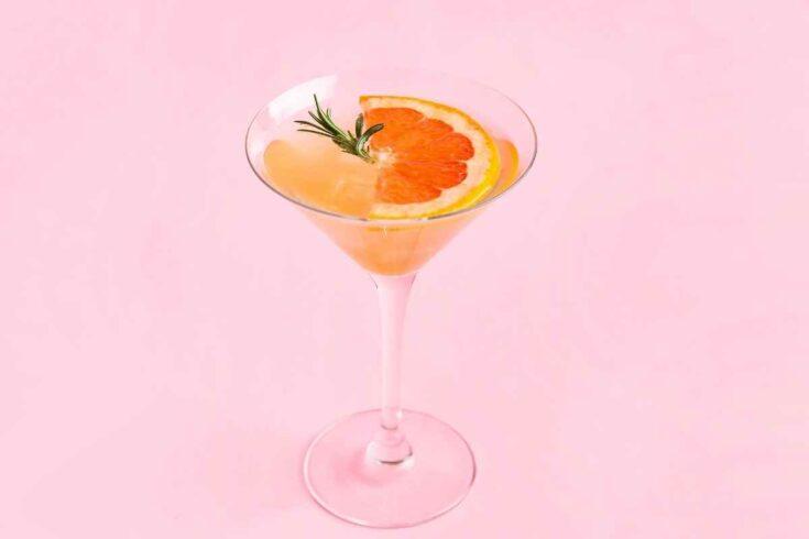 Pink Grapefruit Martini