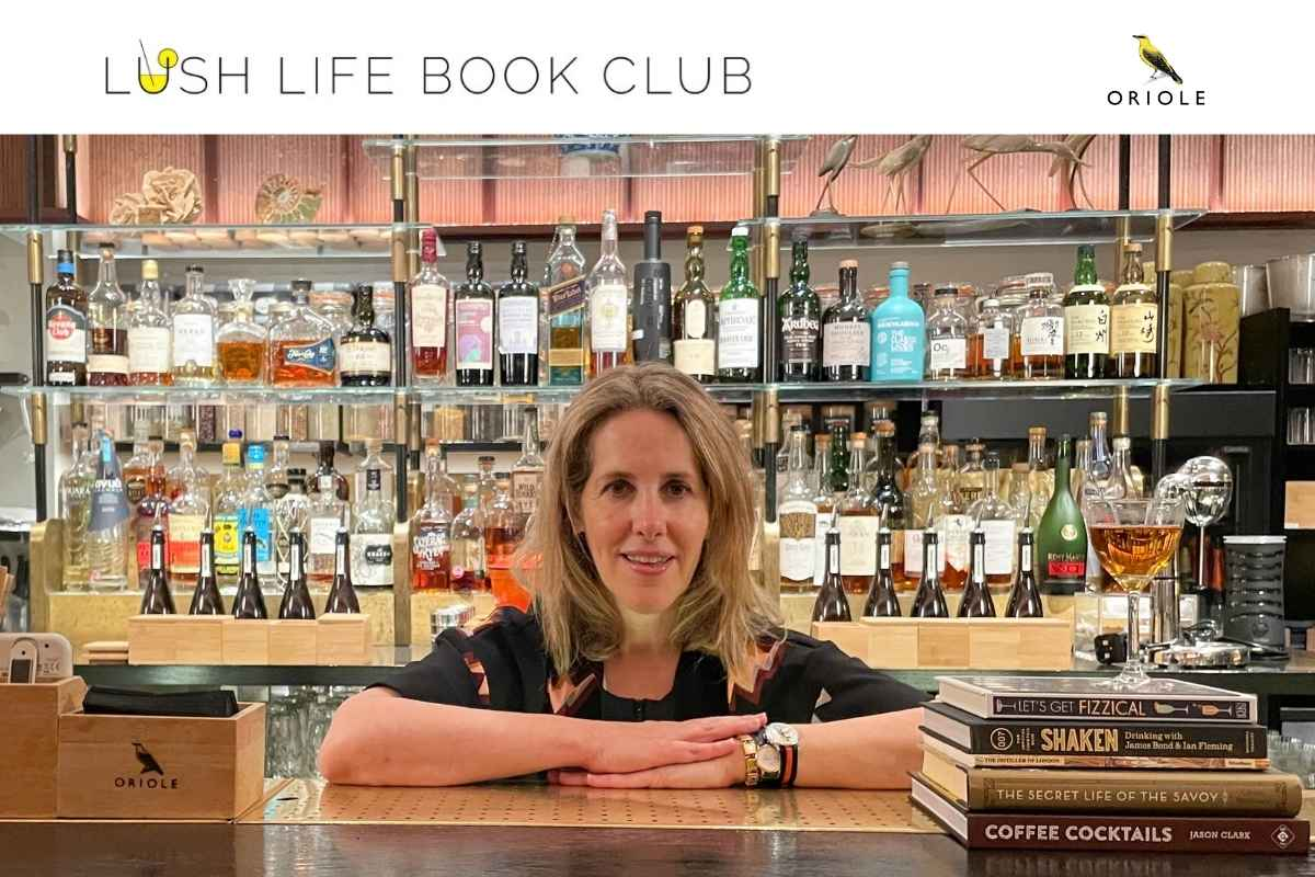 Lush Life Book Club at Oriole during London Cocktail Week, October 2021