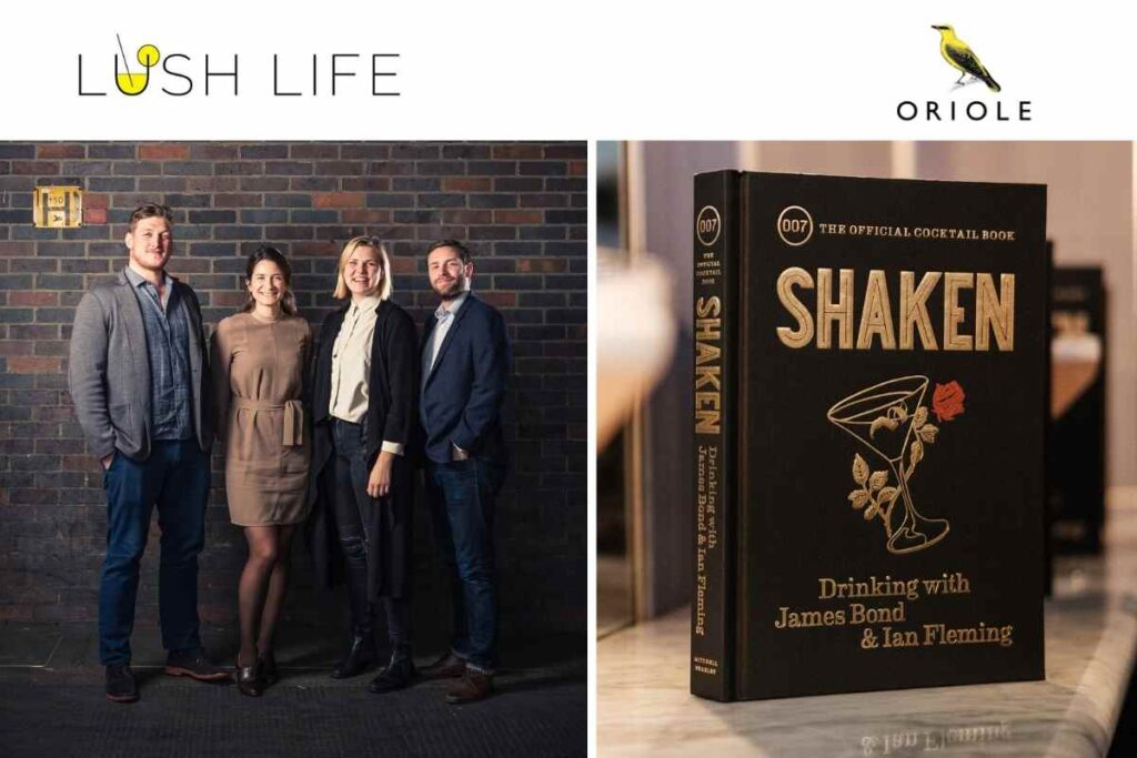 Lush Life - Oriole Book Club - Mia Johansson, Bobby Hiddleston & Edmund Weil