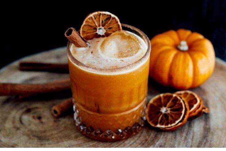 Código Tequila Pumpkin Pie Margarita