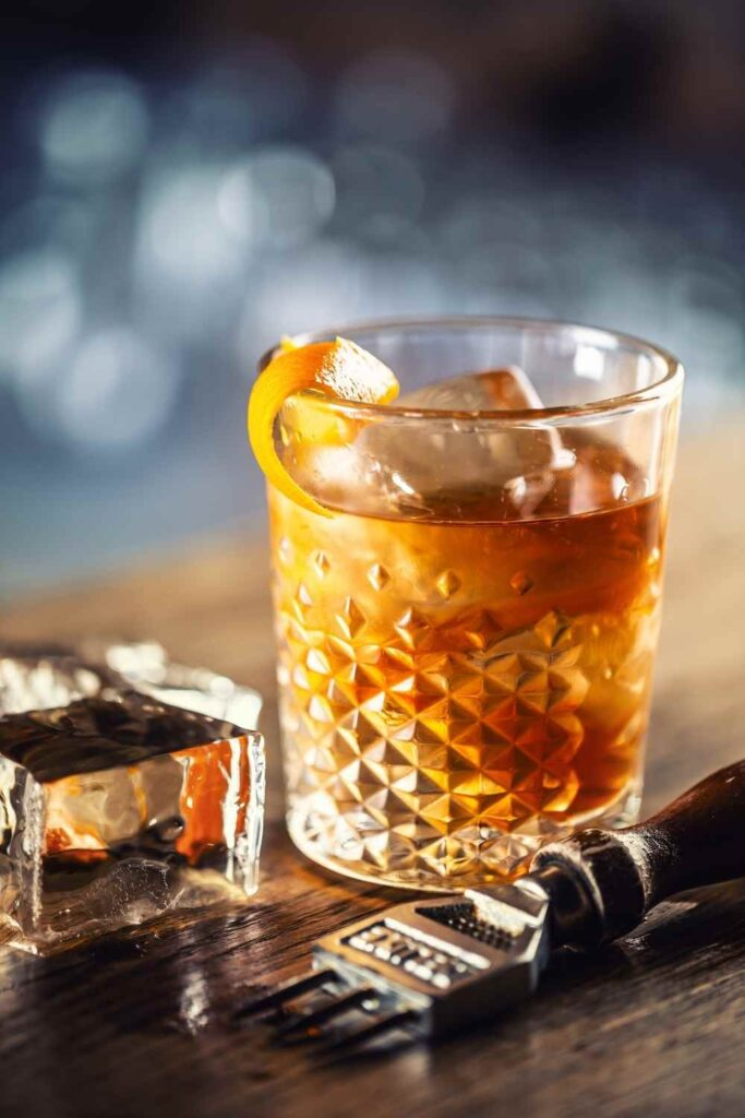Rum Old Fashioned 1
