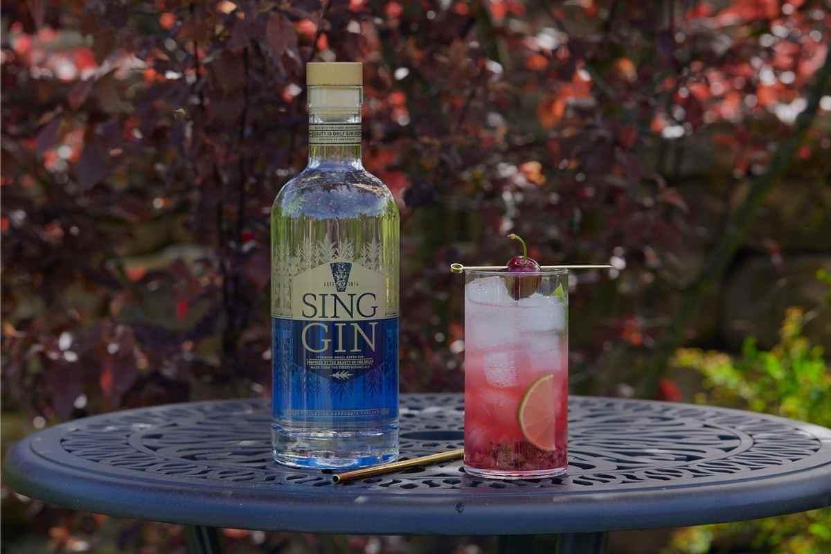 Sing Gin Cherry Sing Smash